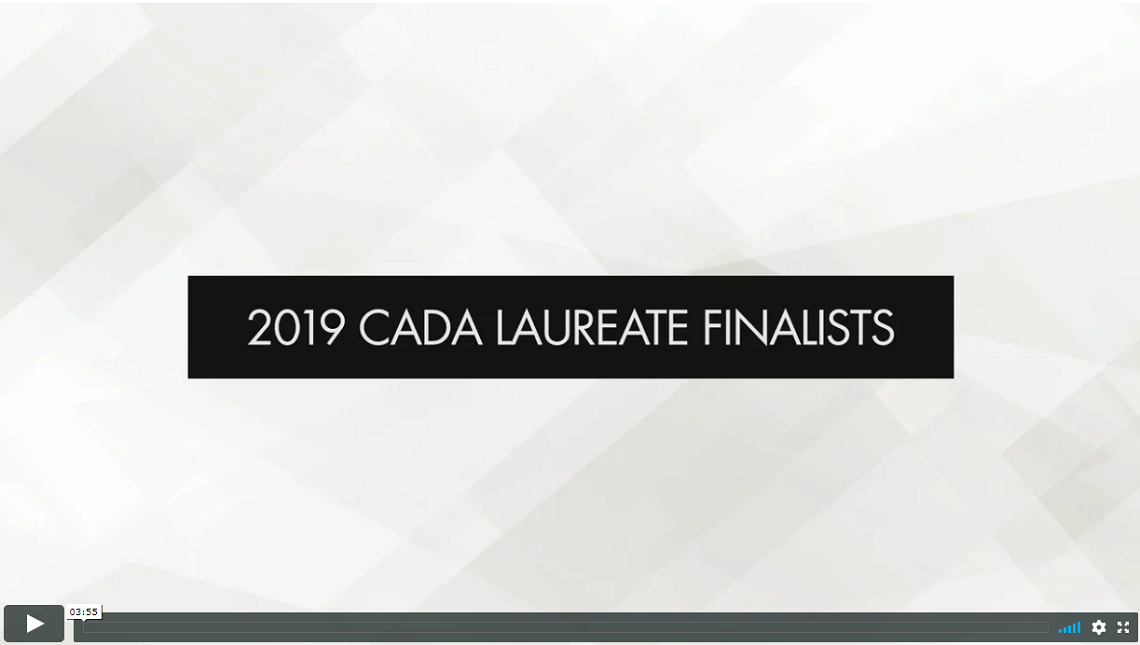 2019 CADA Laureate finalists revealed