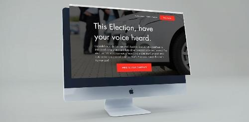 Election microsite for dealers to deploy in September
