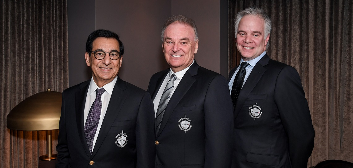 2019 CADA Laureates receive Laureate jackets